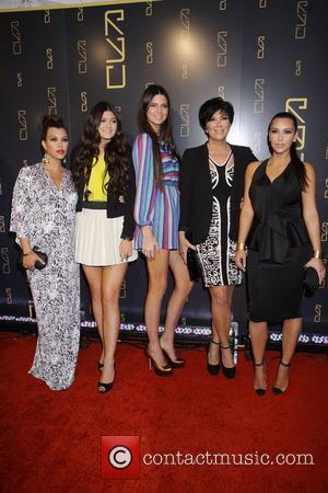 Kourtney Kardashian, Kendall Jenner, Kim Kardashian, Kris Jenner and Kylie Jenner
