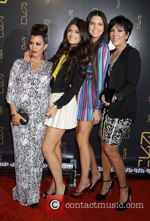 Kourtney Kardashian, Kendall Jenner, Kris Jenner and Kylie Jenner