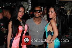 To-Tam Sachika, To-Nya Sachika and Omarion Sachika twins birthday at Sur restaurant in West Hollywood Los Angeles, California - 18.12.11
