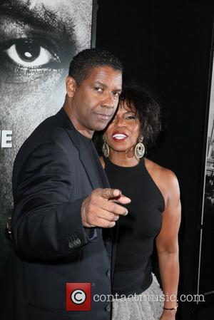 Denzel Washington, Pauletta Washington  New York Premiere of 'Safe House' held at the SVA Theater - Arrivals New York...