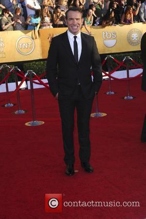 Jean Dujardin  18th Annual Screen Actors Guild Awards (SAG Awards) held at The Shrine Auditorium - Red Carpet Arrivals...