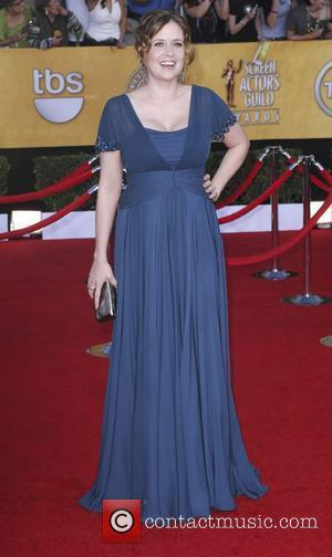 Jenna Fischer  18th Annual Screen Actors Guild Awards (SAG Awards) held at The Shrine Auditorium - Red Carpet Arrivals...