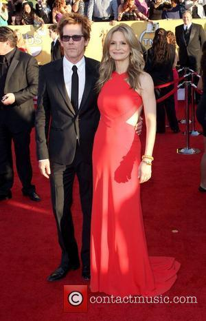 Kevin Bacon and wife Kyra Sedgwick  The 18th Annual Screen Actors Guild Awards (SAG Awards) held at The Shrine...