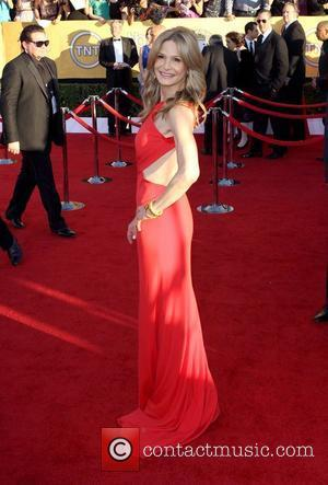 Kyra Sedgwick  The 18th Annual Screen Actors Guild Awards (SAG Awards) held at The Shrine Auditorium - Red Carpet...