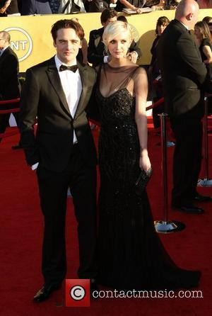 Vincent Piazza and Ashlee Simpson  The 18th Annual Screen Actors Guild Awards (SAG Awards) held at The Shrine Auditorium...