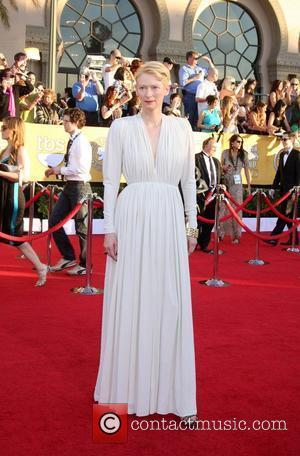 Tilda Swinton The 18th Annual Screen Actors Guild Awards held at the Shrine Auditorium - Arrivals Los Angeles, California -...