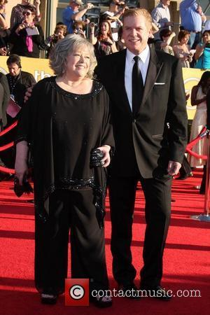 Kathy Bates and Christopher McDonald The 18th Annual Screen Actors Guild Awards held at the Shrine Auditorium - Arrivals Los...