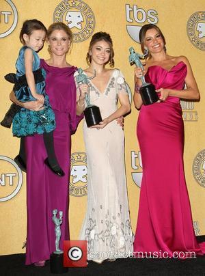 Julie Bowen, Sarah Hyland, Sofia Vergara and Screen Actors Guild