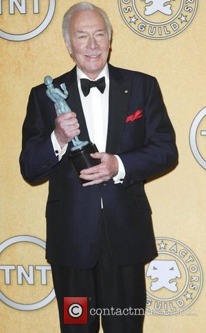 Christopher Plummer  18th Annual Screen Actors Guild Awards (SAG Awards) held at The Shrine Auditorium - Press Room Los...