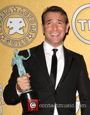 Jean Dujardin 18th Annual Screen Actors Guild Awards (SAG Awards) held at The Shrine Auditorium - Press Room Los Angeles,...