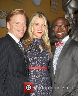 Ned Vaughn, Taye Diggs and Busy Phillips