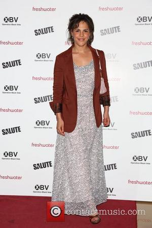 Lenora Crichlow Salute UK film premiere held at the May Fair hotel London, England - 11.07.12