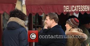 Sam Taylor-wood, Aaron Johnson and James Corden