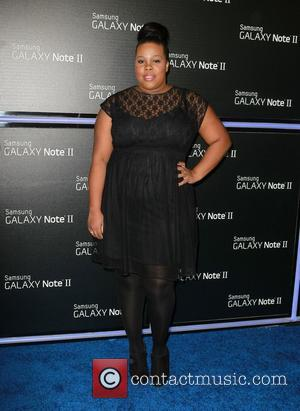 Amber Riley  Samsung Mobile Launch Party For The New Samsung Galaxy Note II - Arrivals Beverly Hills, California -...