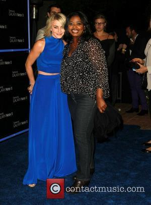 Julianne Hough and Octavia Spencer