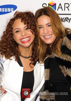 Alexis Jordan and Lisa Snowdon