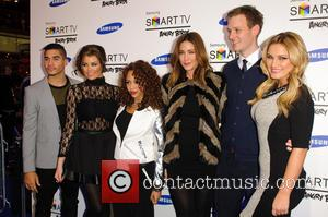 Louis Smith, Jessica Wright, Alexis Jordan, Lisa Snowdon, Dan Walker and Sam Faiers