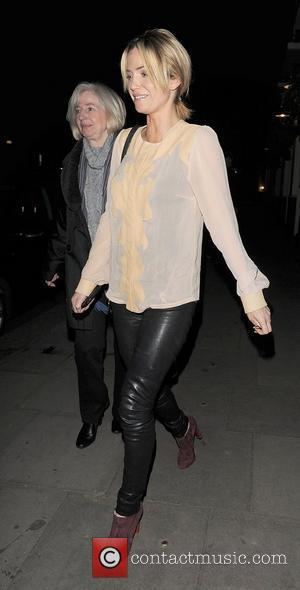Sarah Harding takes her mother Marie Hardman for a late night dinner at Lemonia restaurant in Primrose Hill. It was...
