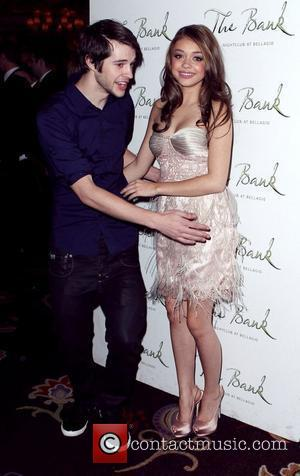 Matt Prokop, Sarah Hyland Sarah Hyland celebrates her 21st Birthday at The Bank Nightclub inside Bellagio Resort and Casino...