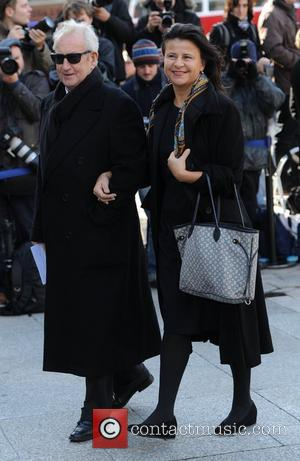 Tracey Ullman Memorial Service for Vidal Sassoon held at St. Paul's Cathedral  London, England - 12.10.12
