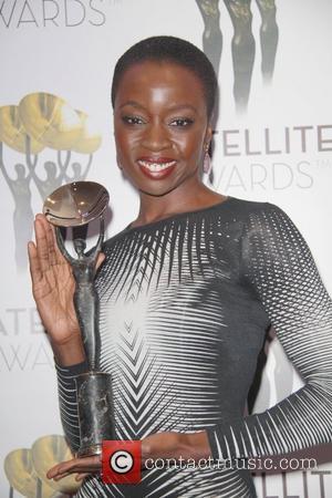 Danai Gurira 17th Annual Satellite Awards held at InterContinental Los Angeles Century City Hotel Theatre   Los Angeles, California...
