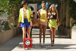 The Saturdays  spotted in Los Angeles  Los Angeles, California - 17.02.12