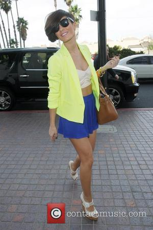 Frankie Sandford from The Saturdays  spotted in Los Angeles  Los Angeles, California - 17.02.12