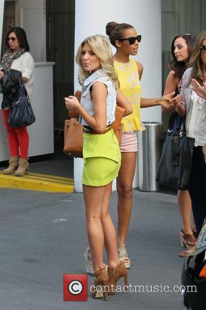 Mollie King and Rochelle Wiseman