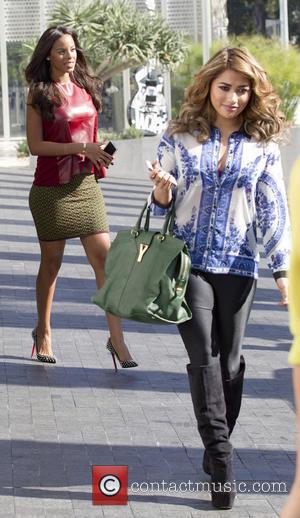 Vanessa White and Rochelle Humes
