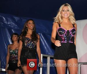 Rochelle Wiseman, Frankie Sandford and Mollie King