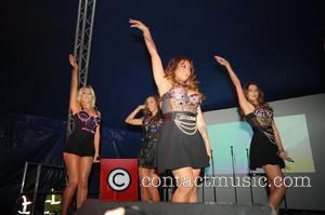 Vanessa White, Frankie Sandford, Mollie King and Rochelle Wiseman