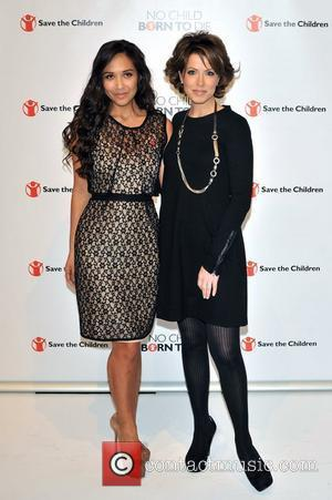 Myleene Klass and Natasha Kaplinsky