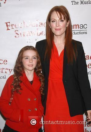 Julianne Moore, Liv Helen Freundlich Manhattan Movement and Arts Center presents family performances to benefit 'Save The Children' with Freckleface...