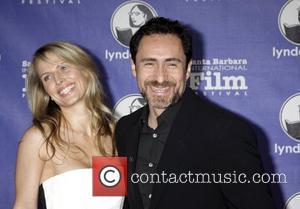 Demian Bichir and wife Stefanie Shark 27th Annual Santa Barbara Film Festival - Virtuosos Award Ceremony at the Arlington Theater...