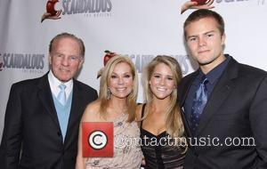 Frank Gifford and Kathie Lee Gifford, Cassidy Gifford and Cody Gifford After party for 'Scandalous The Musical' held at the...