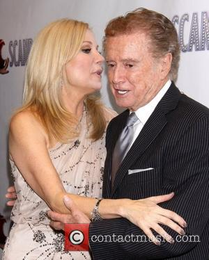 Kathie Lee Gifford and Regis Philbin  After party for 'Scandalous The Musical' held at the Copacabana nightclub. New York...
