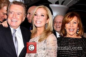 Kathie Lee Gifford, Regis Philbin and Joy Philbin  After party for 'Scandalous The Musical' held at the Copacabana nightclub....