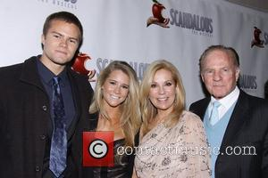 Cody Gifford, Cassidy Erin Gifford, Kathie Lee Gifford and Frank Giffordat the premiere of 'Scandalous The Musical' at the Neil...