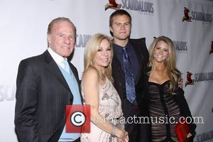 Kathie Lee Gifford, Frank Gifford, Cody Gifford, Cassidy Erin Giffordat, Scandalous The Musical, Neil Simon Theatre and Arrivals. New York City
