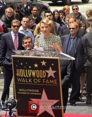 Scarlett Johansson, Star On The Hollywood Walk Of Fame