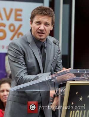 Scarlett Johansson, Jeremy Renner and Star On The Hollywood Walk Of Fame