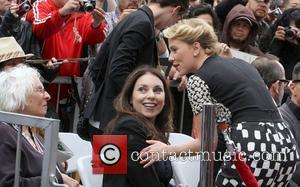Scarlett Johansson, Sloan and Star On The Hollywood Walk Of Fame