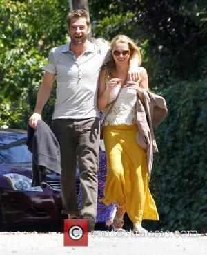 Scott Speedman and Teresa Palmer arrive for a private party at Ali Larter's house in West Hollywood Los Angeles, California...