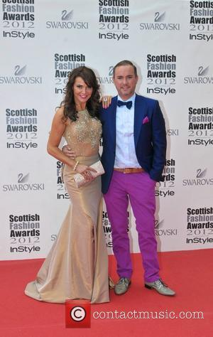 Lizzie Cundy and guest Scottish Fashion Awards held at the SECC Clyde Auditorium - Arrivals Glasgow, Scotland - 11.06.12