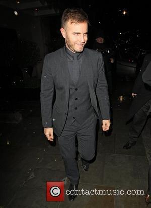 Gary Barlow leaving Scotts restaurant after dining with David Walliams and Lara Stone London, England - 13.12.11