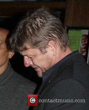 Sean Bean looking worse for wear outside the Groucho club London, England - 04.10.12