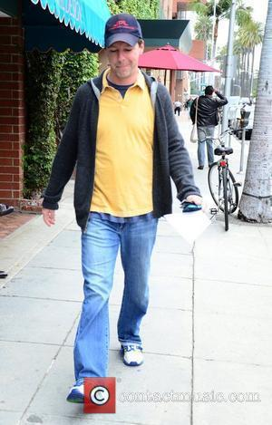 Sean Hayes visits a medical building in Beverly Hills Los Angeles, California - 23.03.12