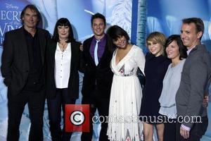Timothy Dalton, Anjelica Huston, Matt Lanter, Raven-Symone, Mae Whitman, Peggy Holmes Premiere of 'Secret of the Wings' held at AMC...