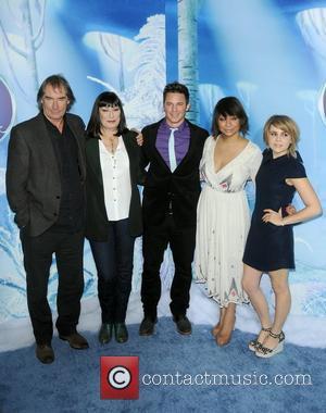 Timothy Dalton, Anjelica Huston, Matt Lanter, Raven-Symone and Mae Whitman Premiere of 'Secret of the Wings' held at AMC Loews...