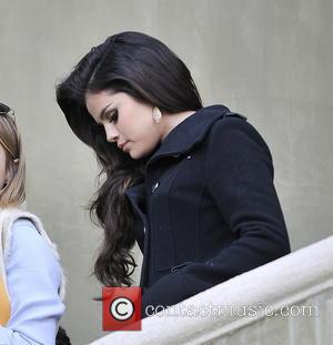 Selena Gomez and Beverly Hilton Hotel